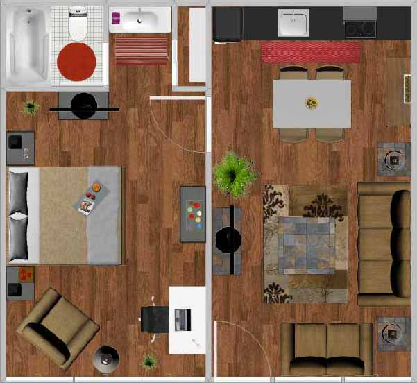 Grand Furniture Charlottesville Va: Floor Plans For The Best Student Apartments Williamsburg